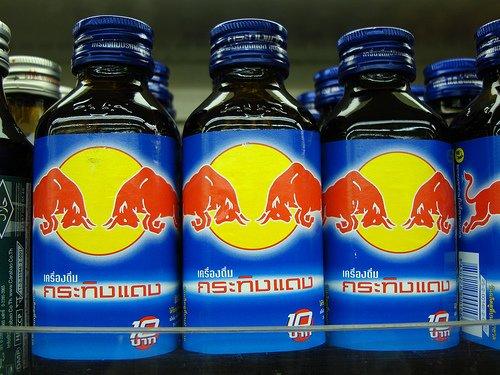 Red Bull w Tajlandii